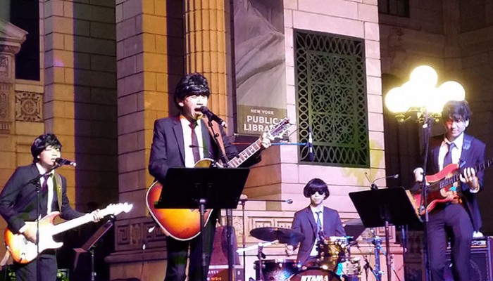 PennyLane performing at a Beatles Themed Event at Universal Studios Singapore