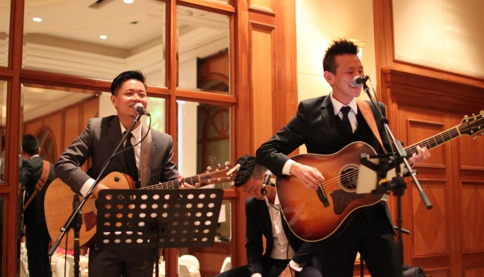 Wedding Dinner at Raffles Town Club